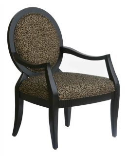 Lenox Accent Chair in Leopard Print ID 161854