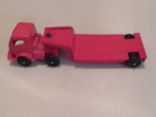 1940s Vintage Toy Plastic Flatbed Truck