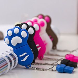 Cute Cat Claw USB Flash Drive USB 2 0 Flash Memory Stick Drive 16GB Multi Colors