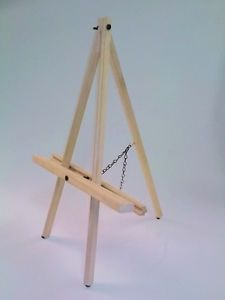 "Table Easel Box of 24 Easels Max Canvas 22"" Easels for Painting or Display"
