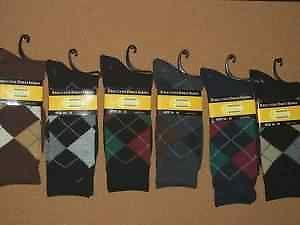 Mens Dress Socks 6 Pair