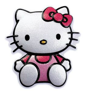 Hello Kitty Glitter Pop Top Cake Party Favors Birthday