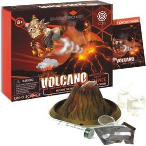 Scientific Educational Toy Volcano Science Kit Age 10