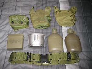 Alice Gear Lot LCE LBV Canteens Covers Large Belt Cup First Aid Kit 782 Gear