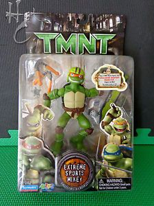 "TMNT Movie Extreme Sports Mikey Teenage Mutant Ninja Turtles 2006 6"" Mike L16"