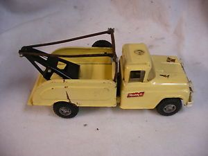 Buddy L Wrecker Tow Truck Fix A Flat Repair Toy Steel Toy Vintage Steel RARE