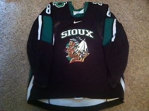 Game Worn Fighting Sioux Hockey Jersey