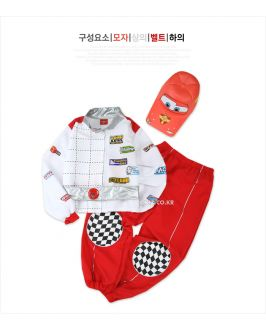 Hyundai Hmall Korea Children Kids Boy Car Racing Halloween Costume Party
