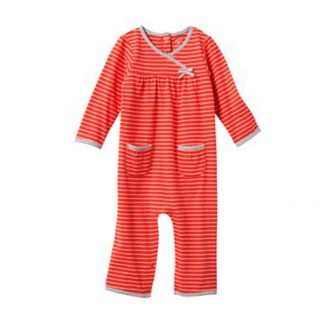 Carters Baby Girl Fall Winter Clothes Coverall Red 3 6 9 12 18 24 Months