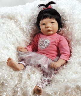 Famous Asian Baby Doll Chinese Baby Doll Nischi's Little Sister 17 Inch