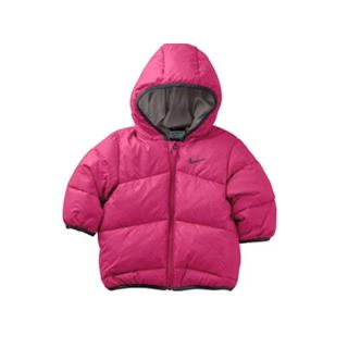 New Nike Baby Warm Winter Padded Jacket Infants Unisex Puffer Hooded Blue Pink