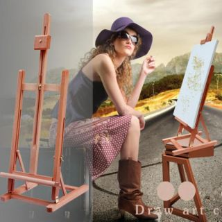 "34 3"" Artist Easel Wood Tripod Table Top Easel Display Drawing Sketching Paint"