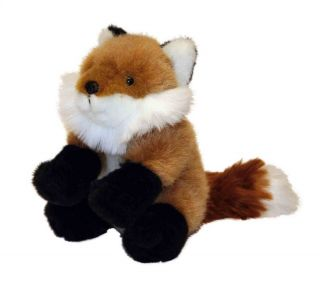 "Wild Republic Baby Fox Soft Plush Cuddly Toy 15cm 6"" 85458"