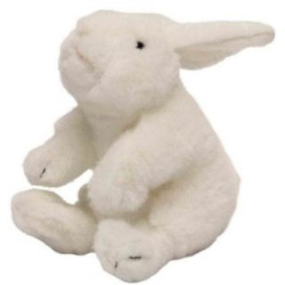 "Wild Republic White Baby Rabbit Soft Plush Cuddly Toy 16cm 6"" 85460"
