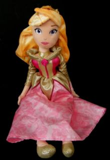 Aurora Disney Sleeping Beauty Fabric Soft Plush Doll