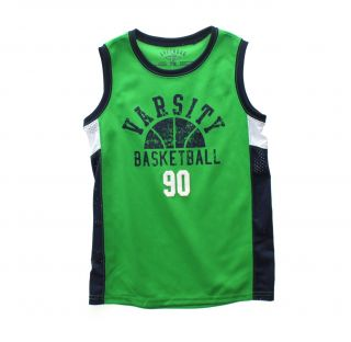 Greendog Kids Boys Sleeveless Basketball Jersey Shirt Top 7 7x