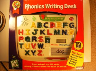 Leap Frog Phonics Writing Desk New in Box