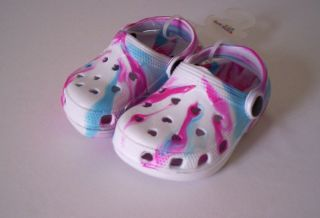New Kids Girls Boys Croc Style Beach Sandal Toddler Shoes All Sizes and Colours