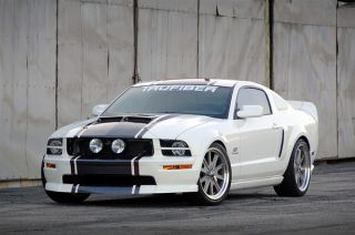 2005 2009 Ford Mustang SH GT Trufiber RAM Air Body Kit Hood