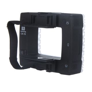 Nanguang CN 16 102 LED Lamp Light for Flash Camera DV Camcorder with Dimmer
