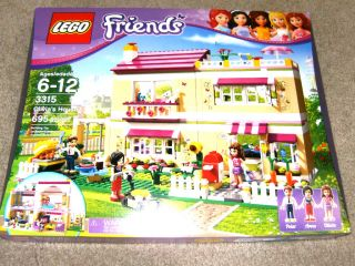 Lego Friends Series 3315 695 Pieces Olivia's House