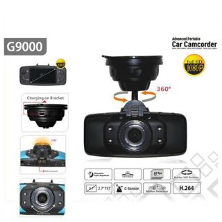 Full HD 1080p GS9000 2 7inch 178 Degree Wide Angle Car DVR with G Sensor GPS