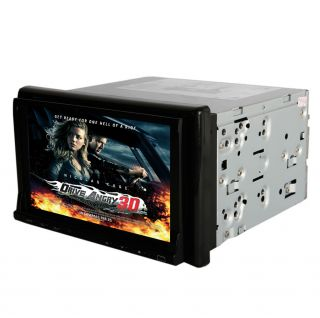 "7"" Touch Screen Bluetooth Car DVD iPod Audio Video Player Double DIN SK 778"