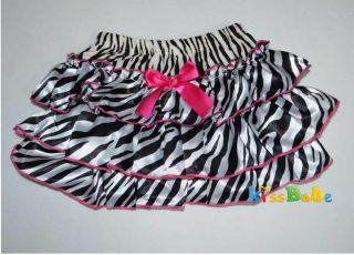 A0320 Girl Baby Clothing Ruffle Pants New Bloomers Nappy Skirt S0 4Y