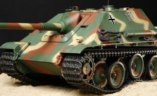 Tamiya 1 16 R C Full Option WWII German Jagdpanther Tank Unassembled Kit 56024