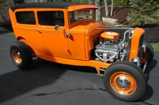 1930 Ford Tudor Street Rod Rat Muscle Collector Show Fun Cruise Gasser Antique