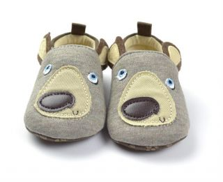 Vintage Soft Sole Infant Toddler Boys Baby Shoes Crib Shoe Size 2 3 0 18 Months