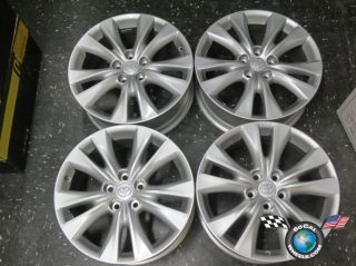 "Four 2013 Toyota Highlander Factory 18"" Wheels Rims RAV4"