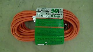 50 ft x 12 Gauge Outdoor Extension Cord