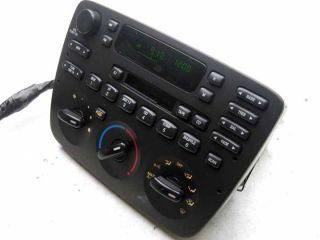 04 07 Ford Taurus Sable Player Radio Cassette Tape