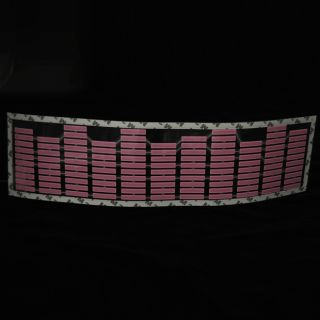 New Pink Car Music Rhythm LED Flash Light Lamp Sticker Sound Activated Equalizer