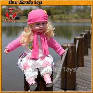 Real Delicate Doll Toy Music Baby Doll  American Girl Doll Hot Buy