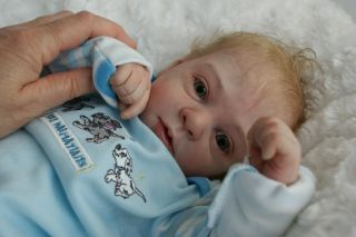 Gorgeous Reborn Baby Boy Natalie Blick Sculpt Small Booboo Hence