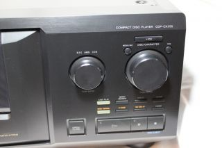 Sony 300 CD Compact Disc Changer Player CDP CX355 Mega Storage
