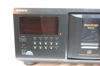 Sony 300 CD Compact Disc Changer Player CDP CX355 Mega Storage 027242567924