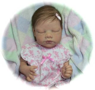 Reborn Baby Girl Heather New Tina Kewy Ellis Doll Sister to Gus Limited Ed