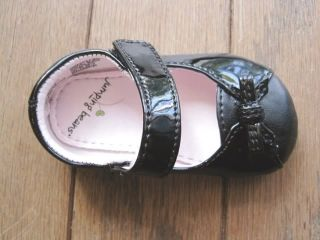 Baby Girls Shoes Black Dress Jumping Beans Sz 2 5