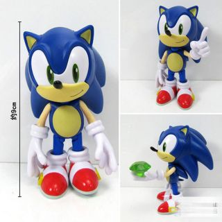 JP Anime Sonic The Hedgehog 214 Figure Super Sonic PVC Action Figures