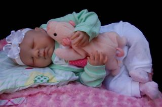 Adorable Reborn Baby Doll Sweet Newborn Girl So Lifelike Heavy Floppy