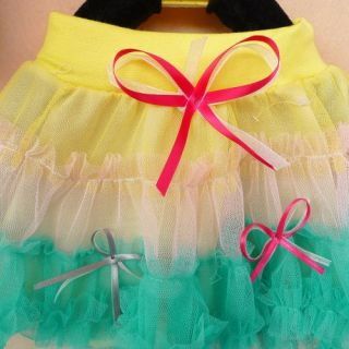 Cute Colorful Girl Baby Child Princess Pettiskirt Dancewear Tutu Dress Skirt