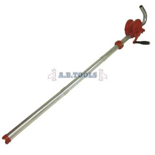Self Priming Rotary Barrel Pump Fuel Oil Pump Hand Adjustable TE515
