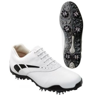 FootJoy LoPro Collection CLOSEOUT Women's 7 5 w White Black Golf Shoes New