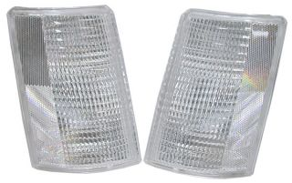 85 94 Astrovan GMC Safari Clear Corner Side Marker Lights PR Chevrolet Astro Van