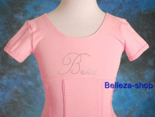 Girls Pink Ballet Tutu Dance Dress Leotard Sz 4 5 BP19