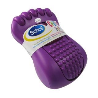 Scholl Crazy Feet Mini Vibrating Portable Purple Foot Massager Relaxer