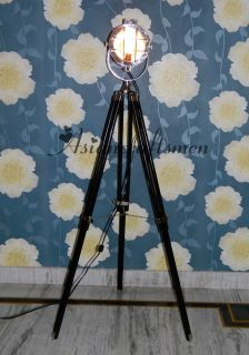 Nautical Spot Search Light Nautical Search Light with Floor Tripod Stand